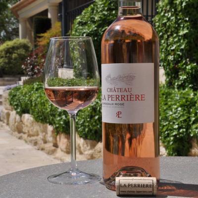 Château La Perrière Rosé 2020 est arrivé !
